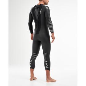 2XU P:1 Propel Pianka pływacka Mężczyźni, black/silver shadow